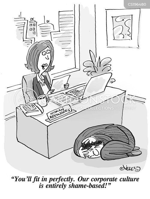 shaming cartoon