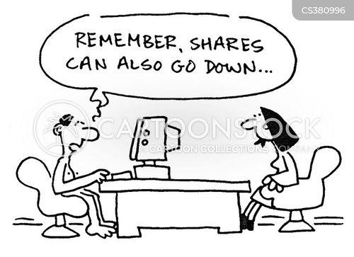 market trader cartoon