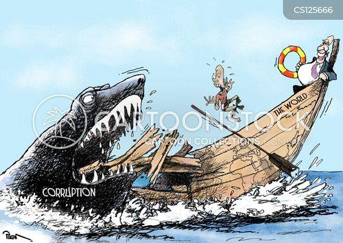corrupts cartoon