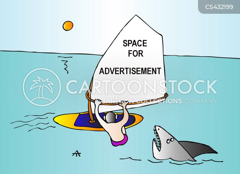 advertising space cartoon
