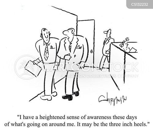 aware cartoon