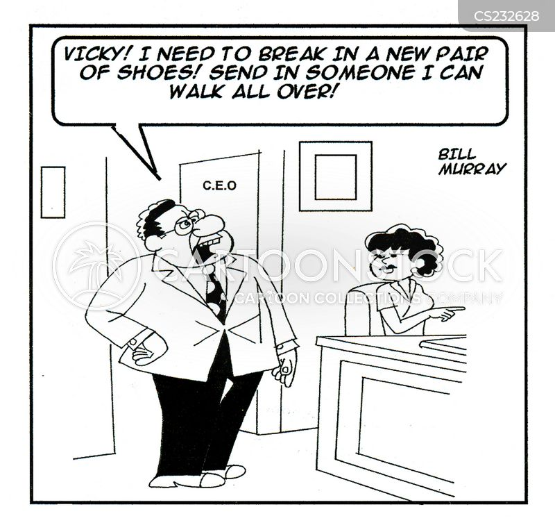 walk all over cartoon