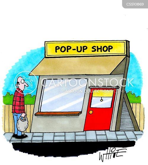 pop up book cartoon