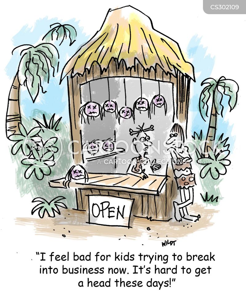 tiki bars cartoon