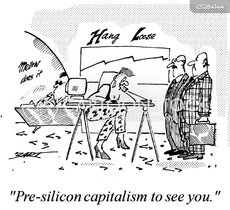 Silicon Valley Cartoon, Silicon Valley Cartoons, Silicon Valley Bild, Silicon Valley Bilder, Silicon Valley Karikatur, Silicon Valley Karikaturen, Silicon Valley Illustration, Silicon Valley Illustrationen, Silicon Valley Witzzeichnung, Silicon Valley Witzzeichnungen