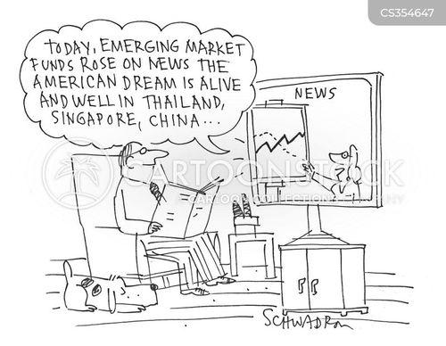 emerging markets cartoon