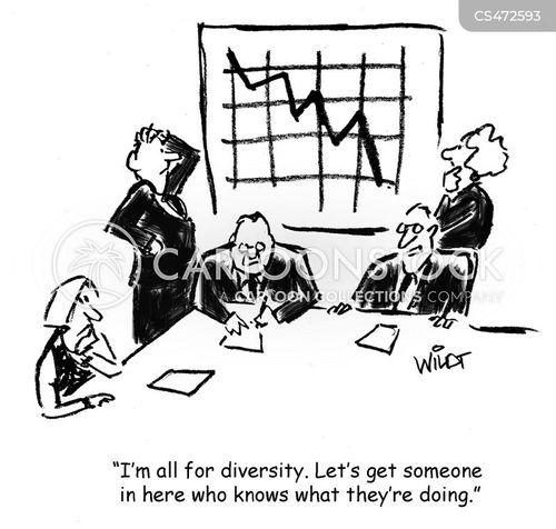 new talent cartoon