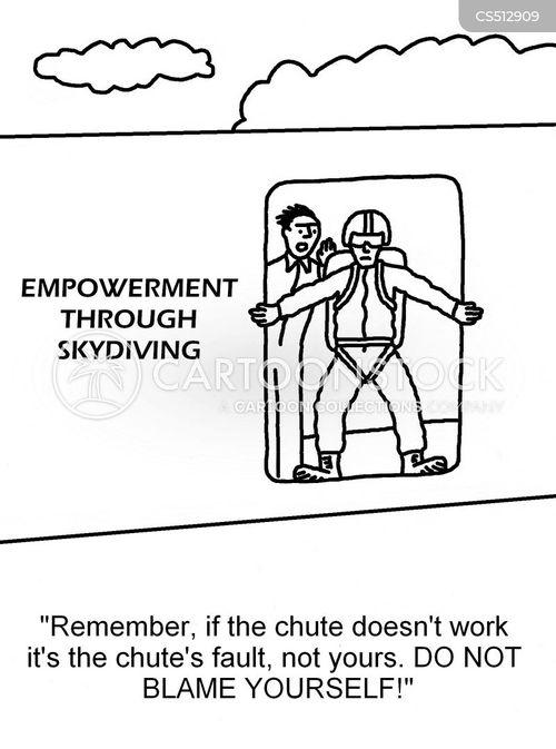 empowering cartoon