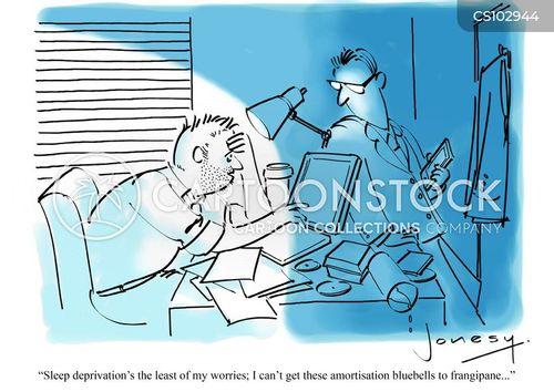 sleeplessness cartoon