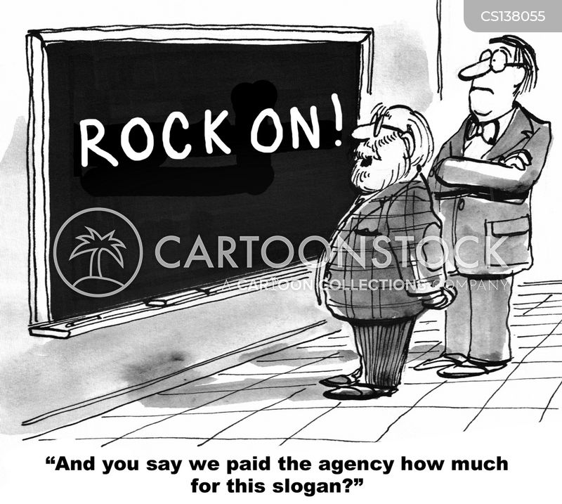 marketing agency cartoon