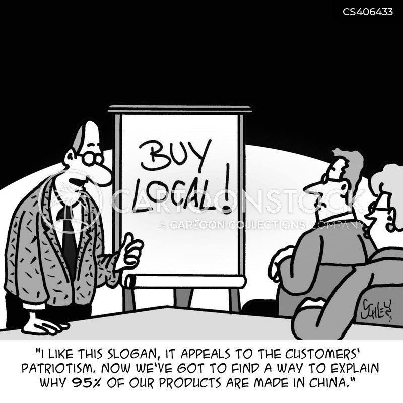 Why buy from local markets?