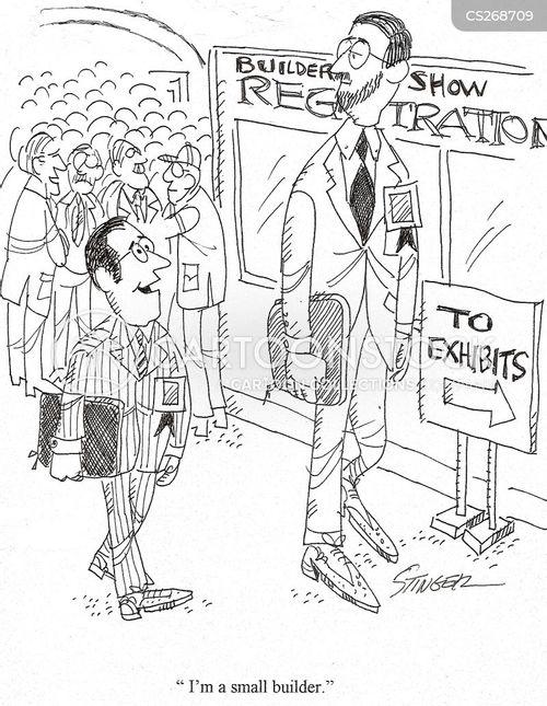 building industry cartoon