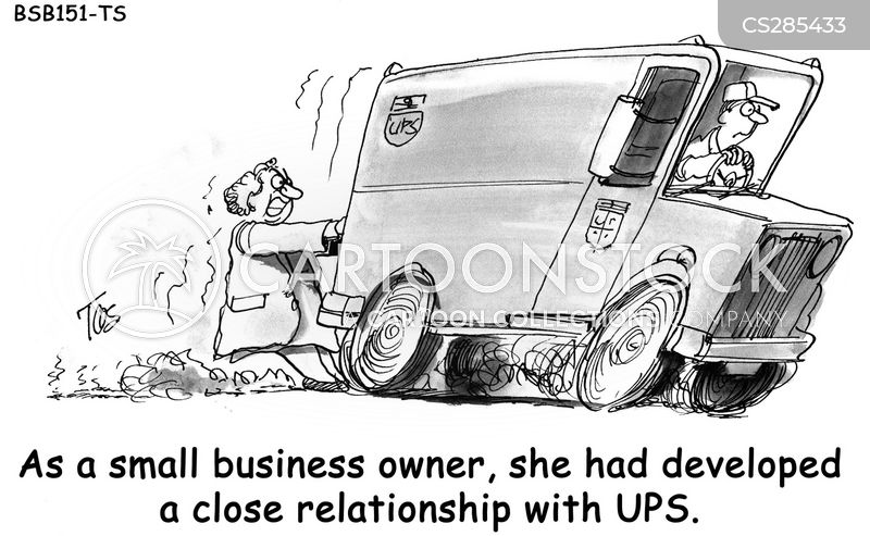 ups cartoon