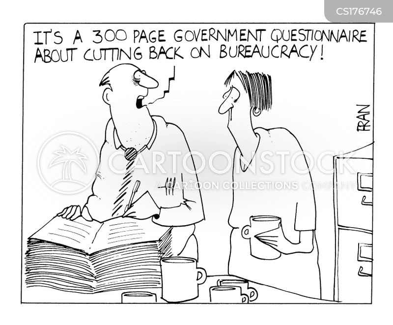 civil service cartoon