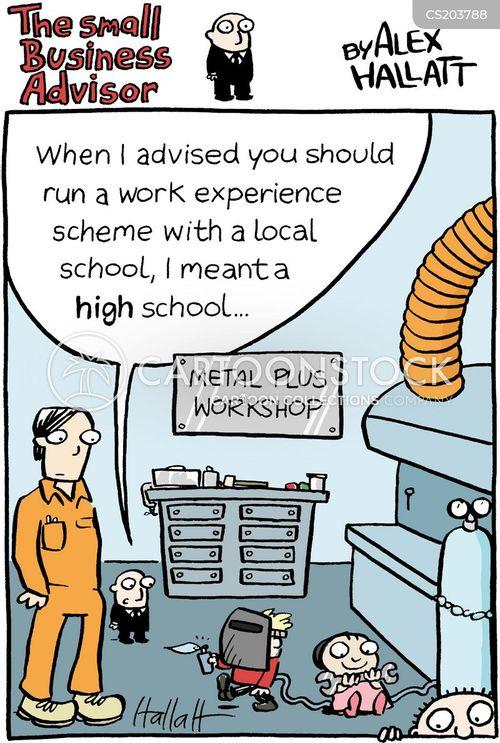 metalwork cartoon