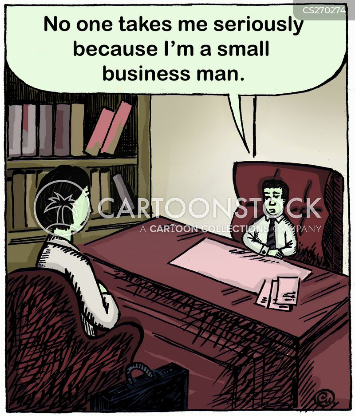 small man cartoon