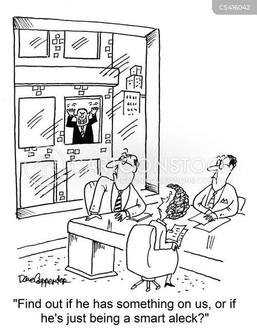 smart alecs cartoon