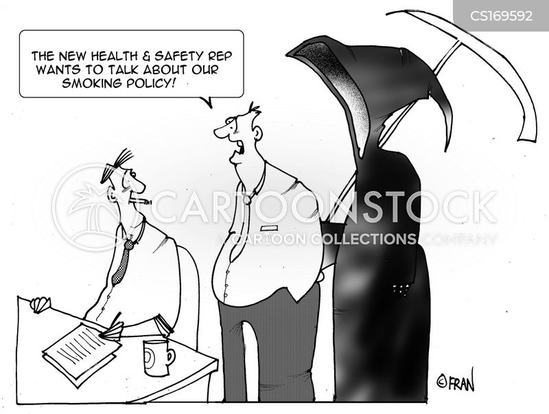 smoking policies cartoon