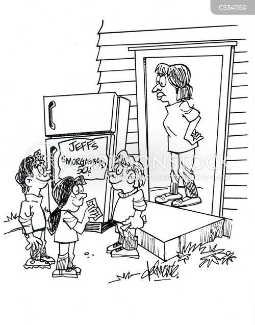 smorgasbord cartoon