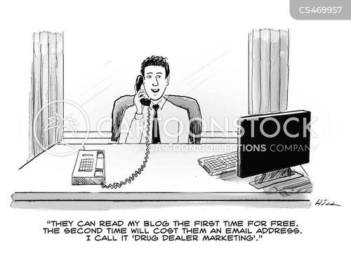 advertising policy cartoon