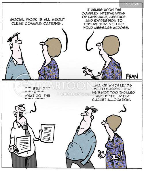 social service cartoon