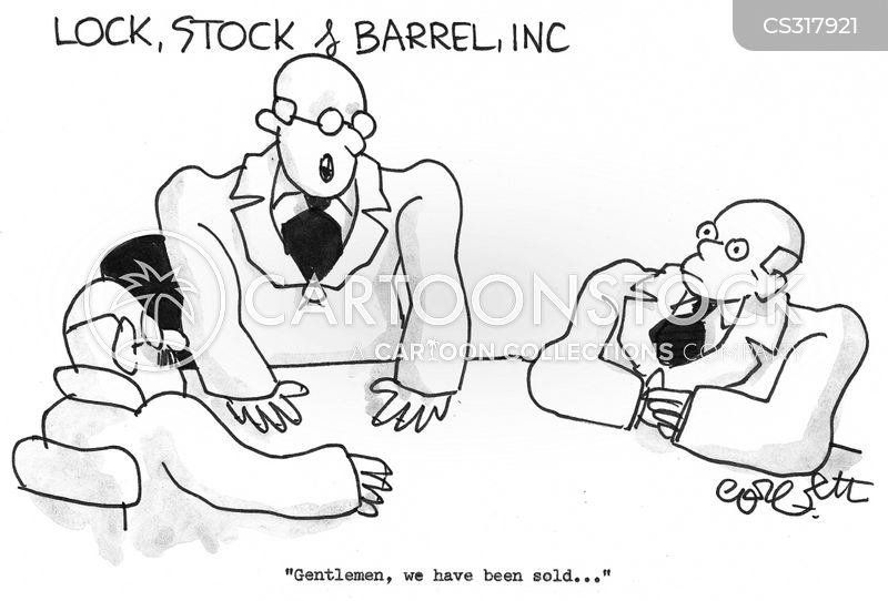 business takeovers cartoon