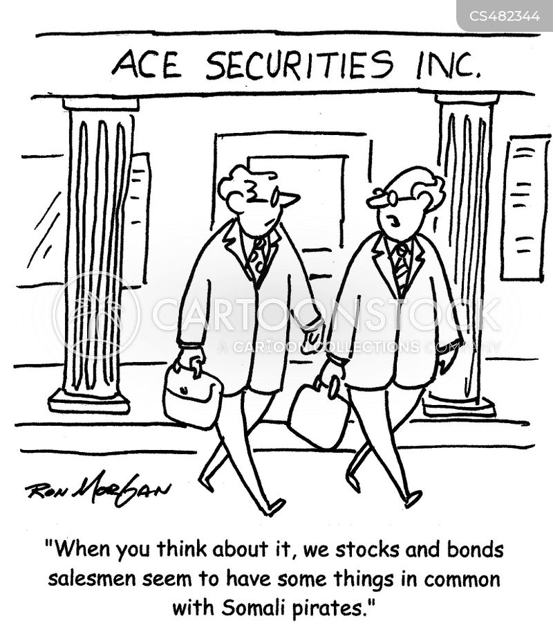 financial service cartoon