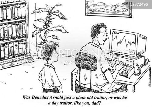 day trade cartoon