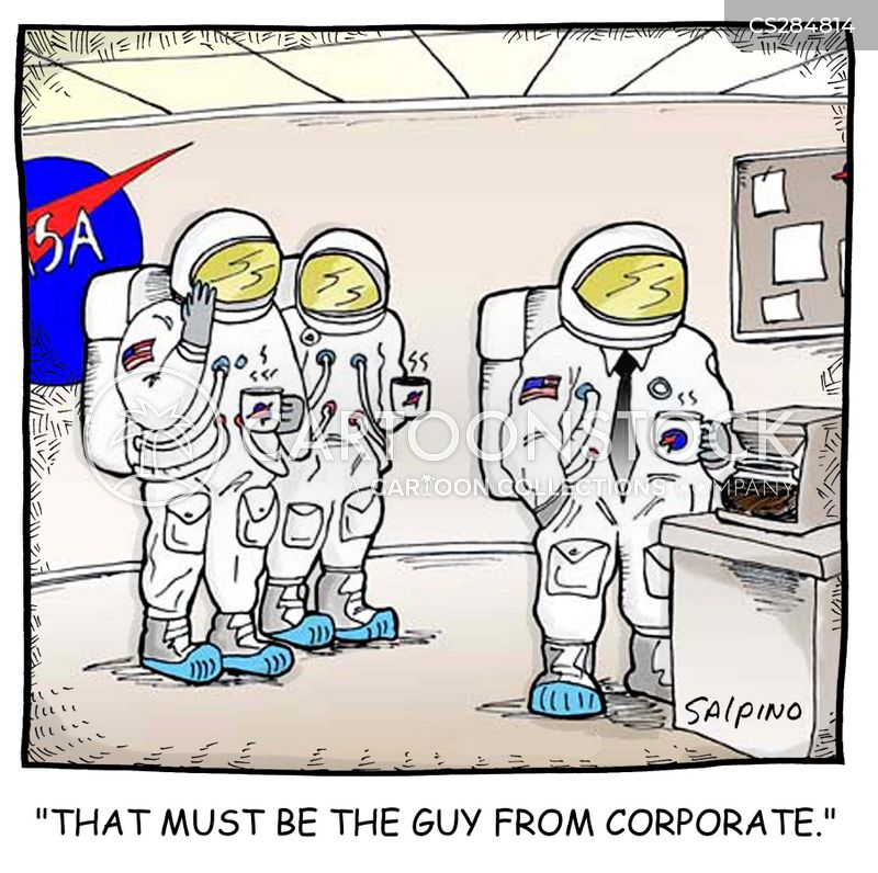 space suits cartoon