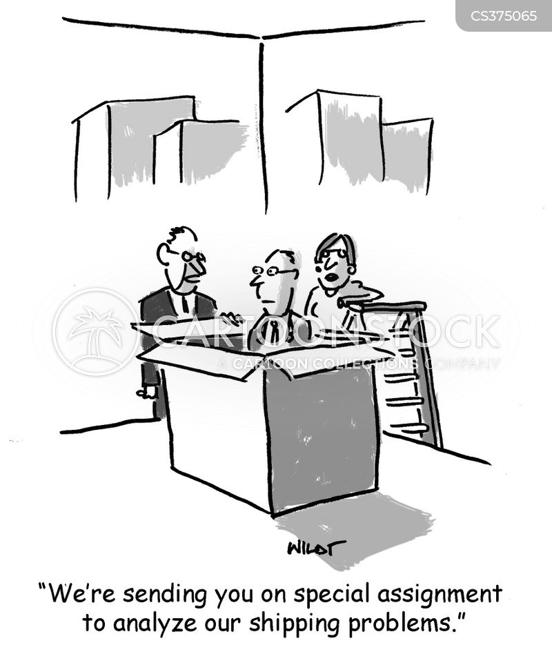 special assignment cartoon