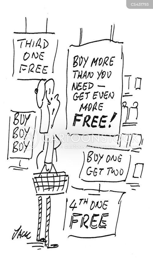 marketing scam cartoon