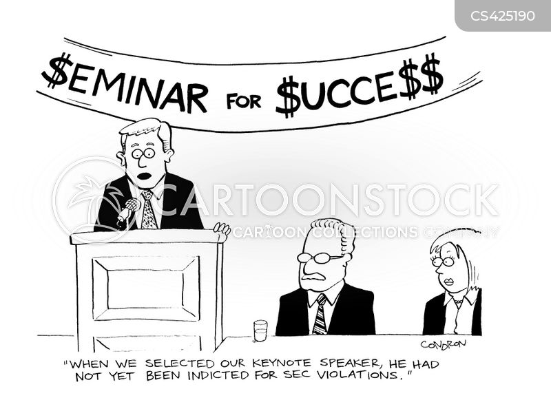 securities and exchange commission cartoon