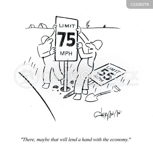miles per hour cartoon