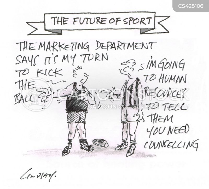 rugby matches cartoon