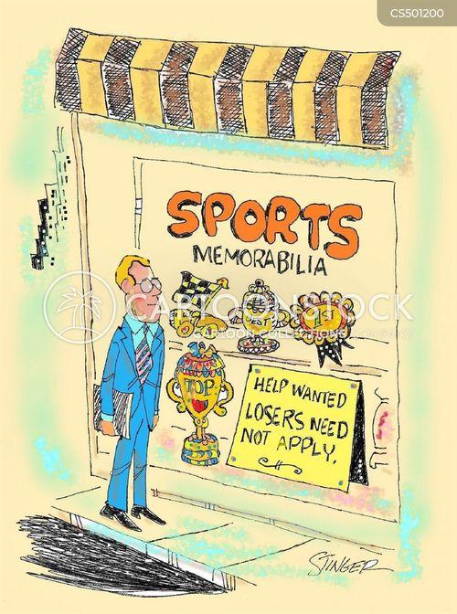 memorabilias cartoon