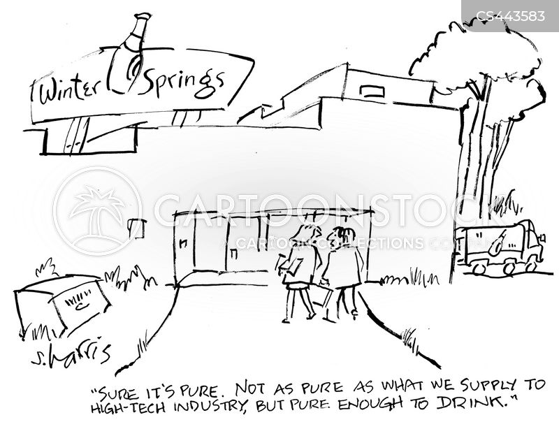 water factories cartoon
