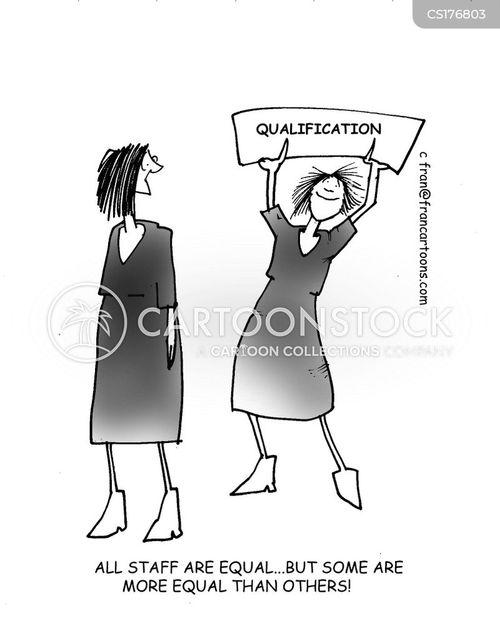 discriminates cartoon