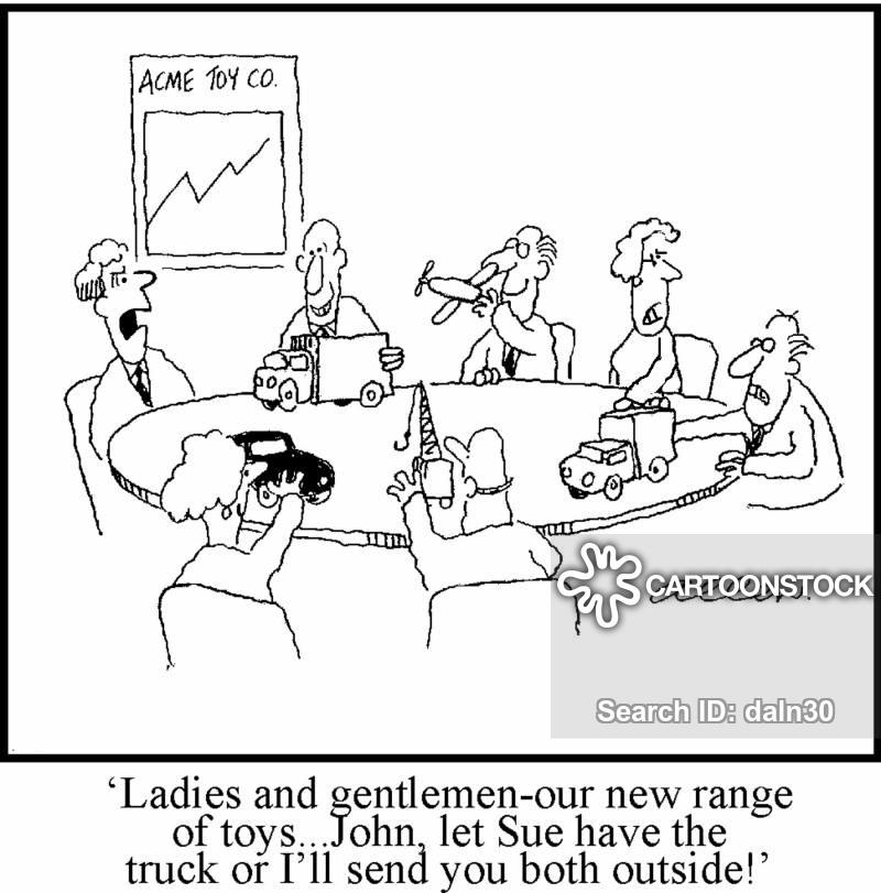 new stock cartoon