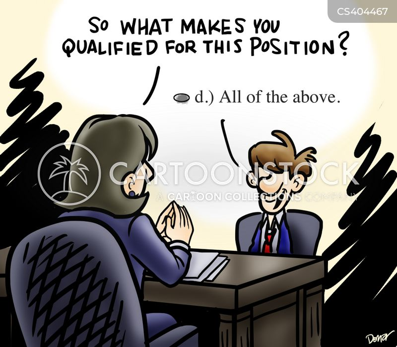 so what makes you qualified for this position