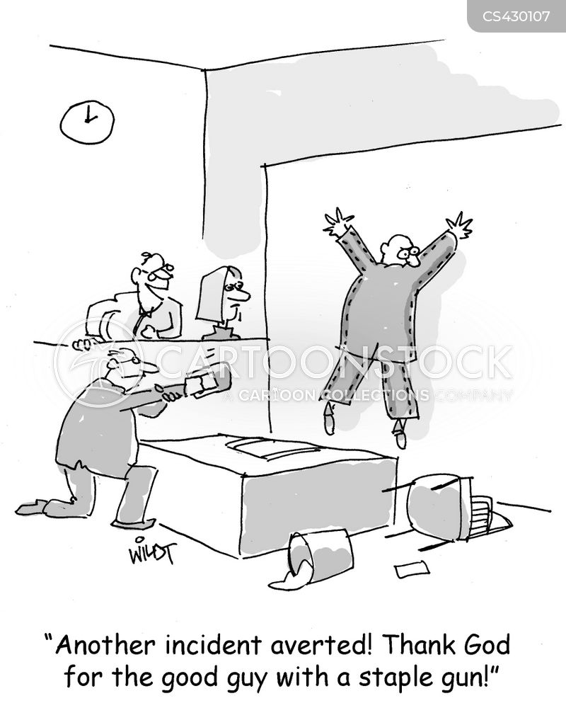 Staples Cartoons and Comics - funny pictures from CartoonStock