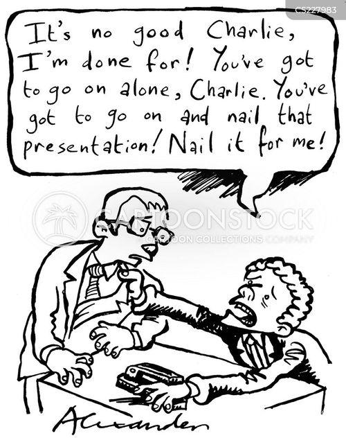 stapler cartoon