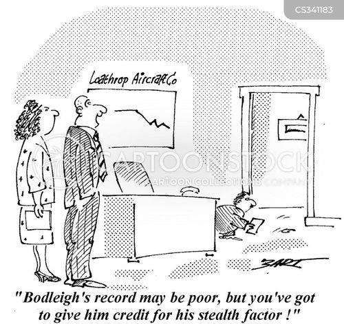 stealthy cartoon