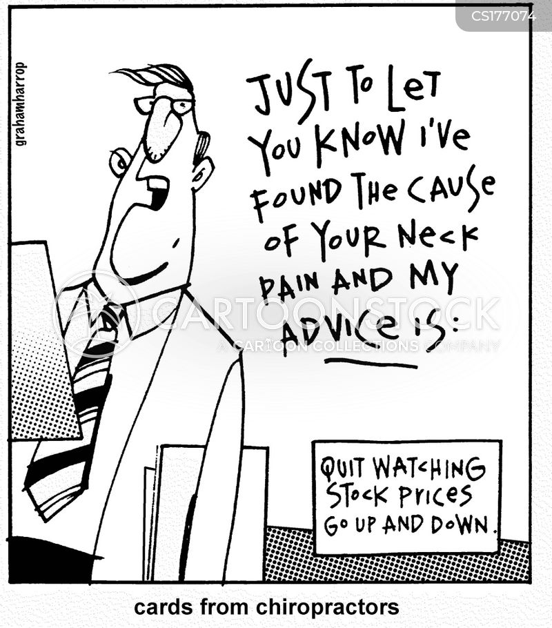 stock exchanges cartoon