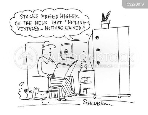 nothing ventured cartoon