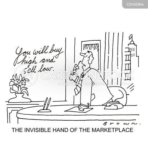 stockbrocker cartoon