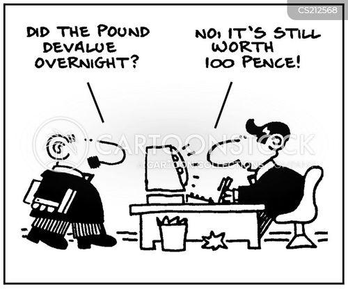 devalue cartoon
