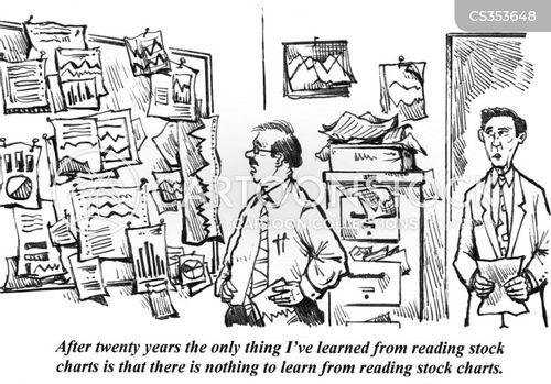 financial analyst cartoon