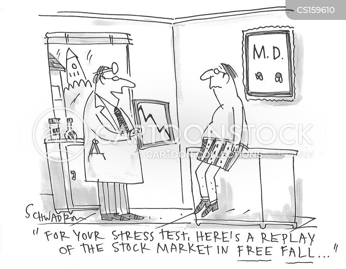stress test cartoon