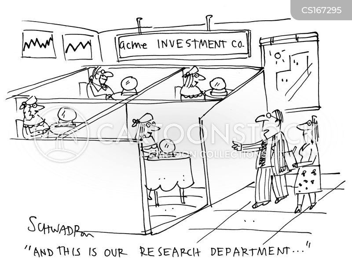 stockmarket cartoon