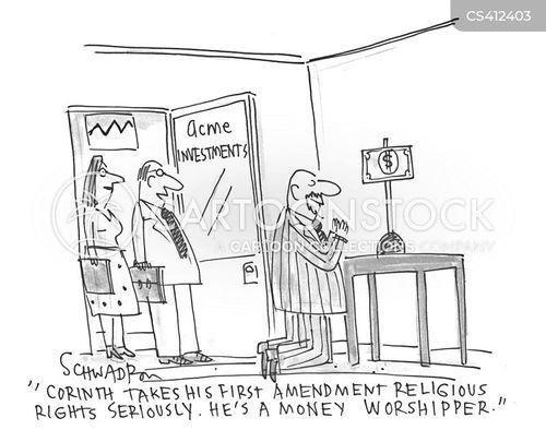 religious right cartoon